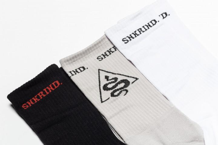 3 Pack Basic Socks