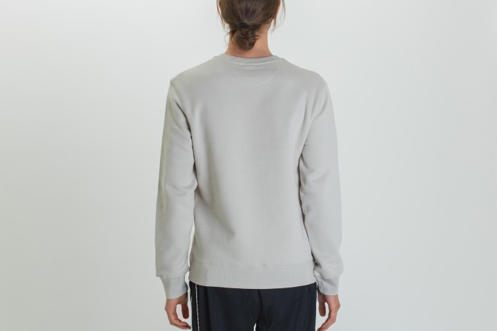 Sectioned Type Crewneck