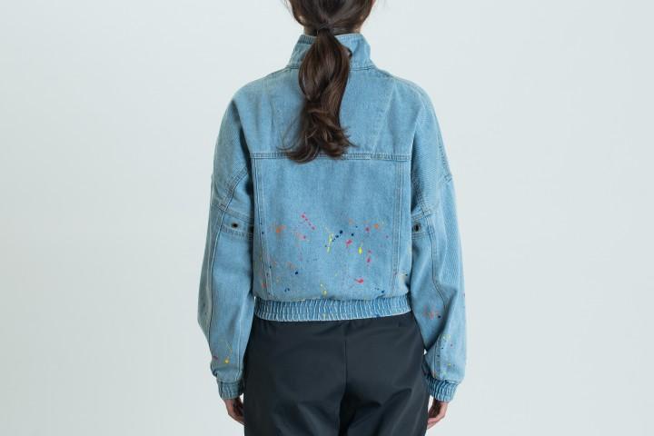OG Denim Paint Splatter Jacket