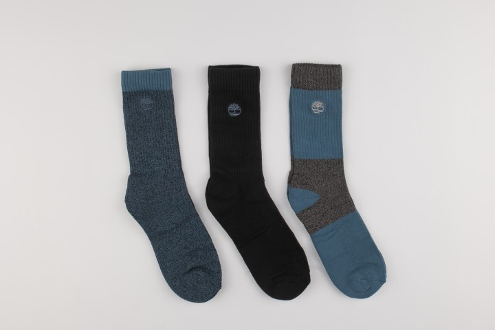 Three Pair Boot Socks