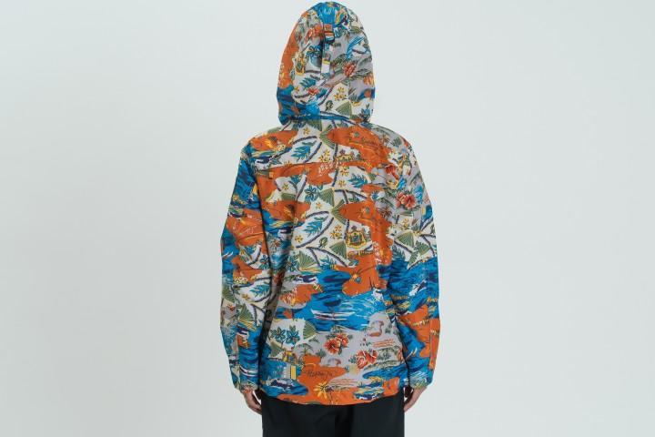 W Rainforest Summer Print Jacket