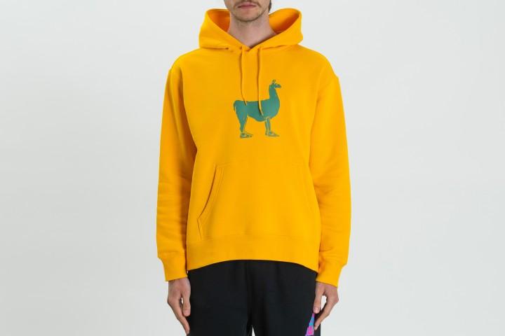 Llama Fleece Hoodie