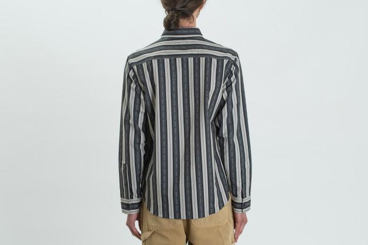 Fuck It Stripe Shirt