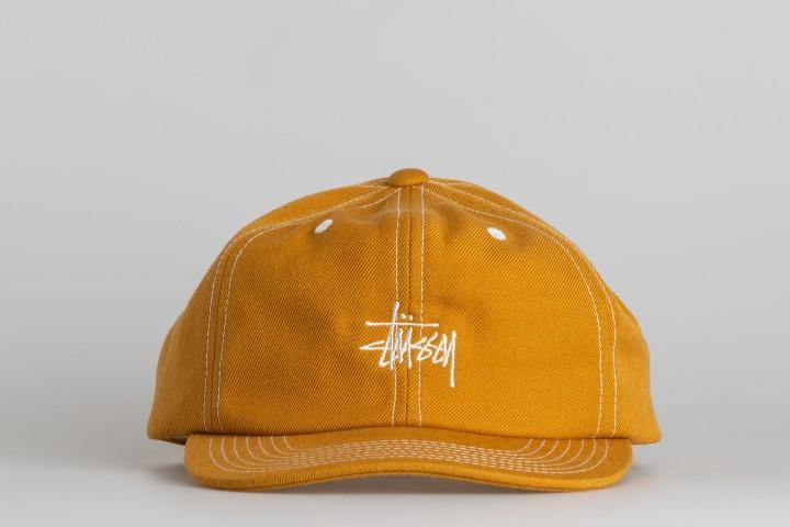 Contrast Stitch Stock Cap