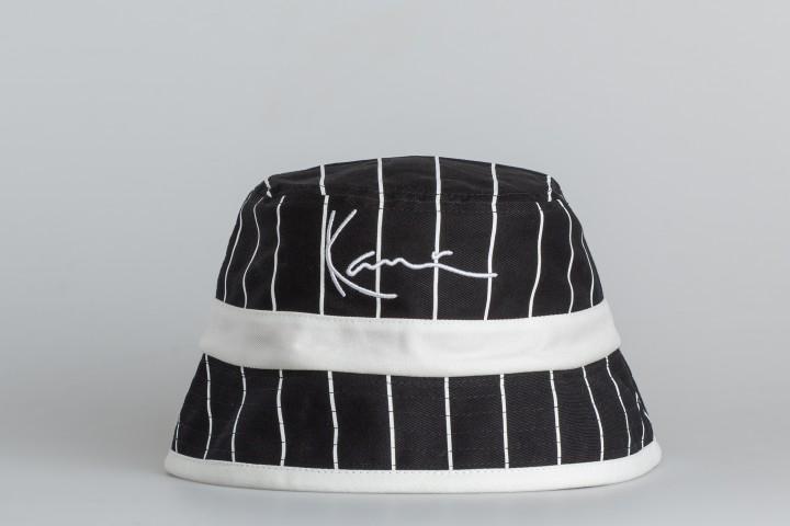 Signature Reversbile Block Bucket Hat