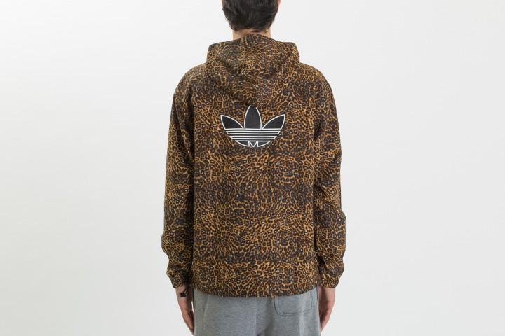 Animal Print Windbreaker Jacket