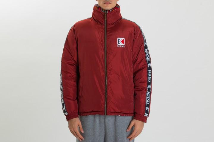 Retro Reversible Corduroy Puffer Jacket