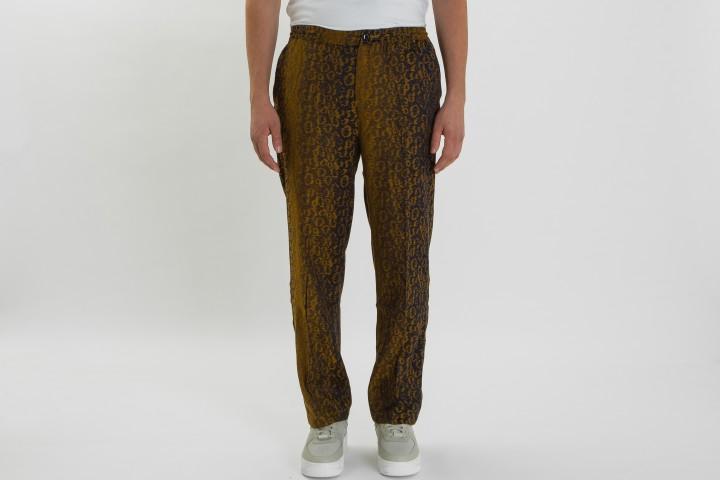 Leopard Jacquard Bryan Pants