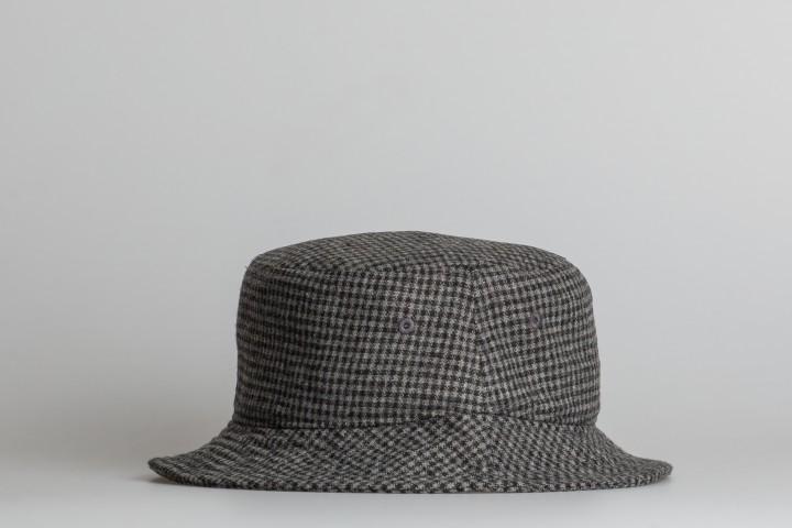 Check Big Stock Bucket Hat