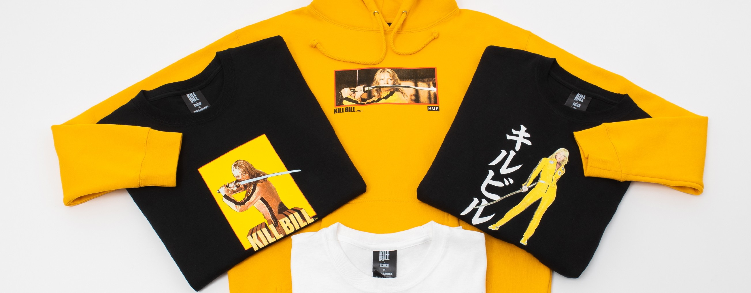 HUF X KILL BILL CAPSULE COLLECTION
