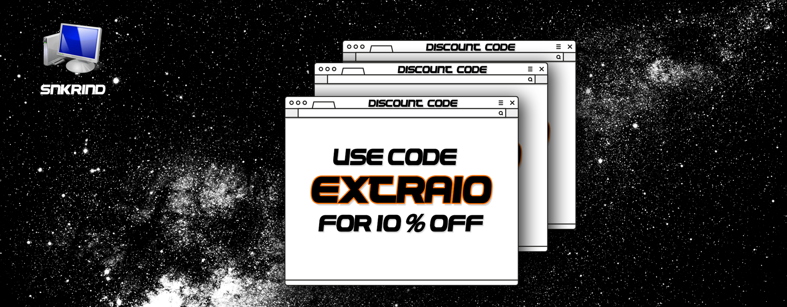 EXTRA10 FOR 10% OFF