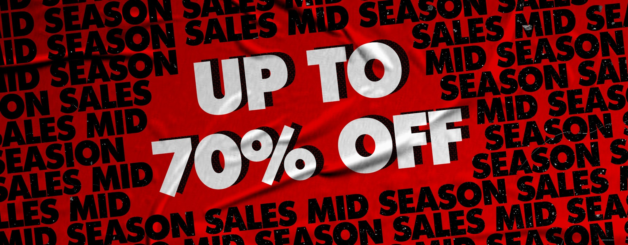 Mid Season Sales - up to 70% off!
